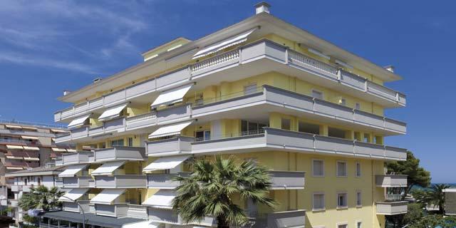 residence sul mare alba adriatica abruzzo appartamenti